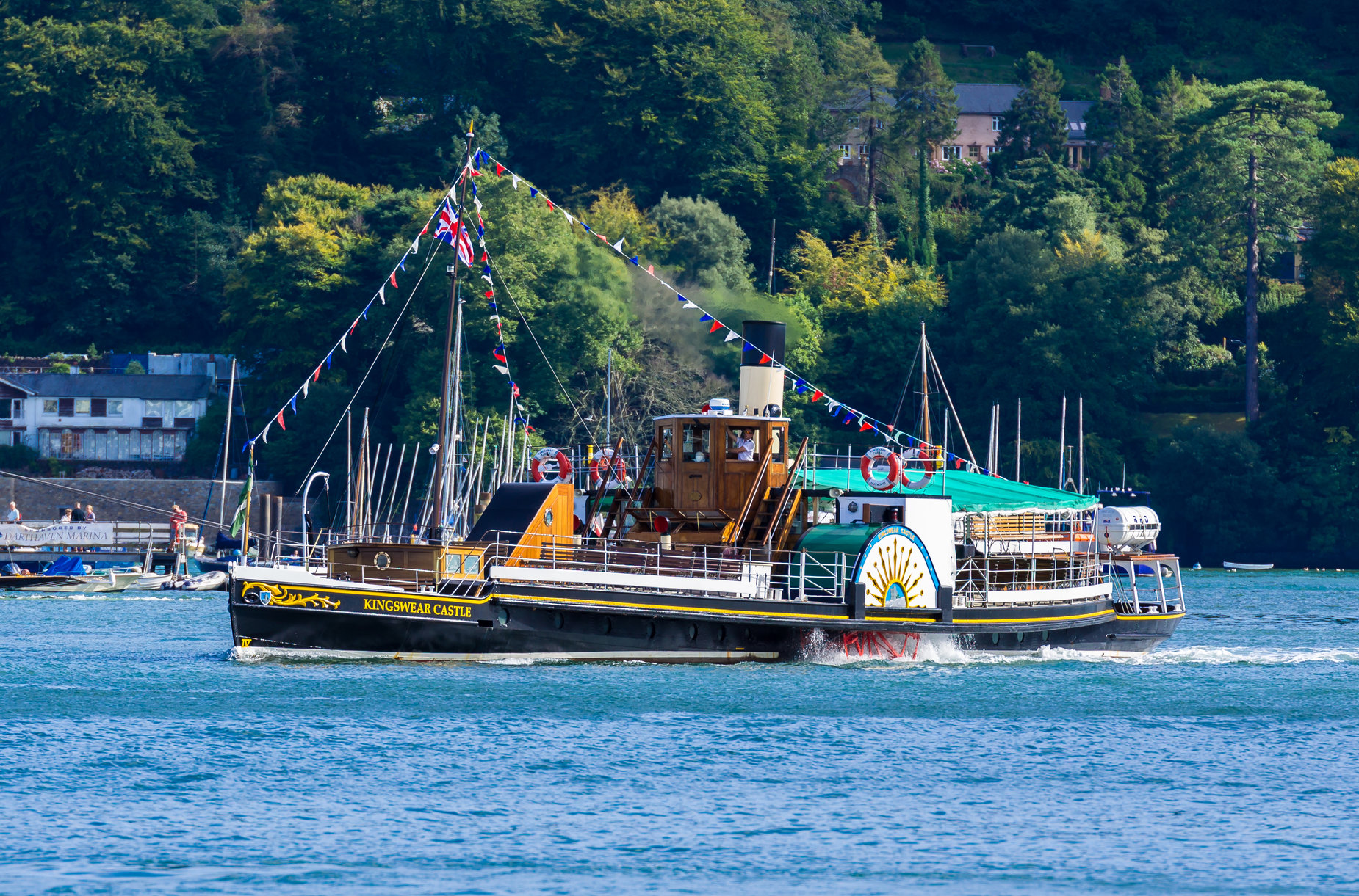Taylors Coach Travel Dartmouth Paddle Steamer Cruise Totnes - Can you take a steamer on a cruise ship